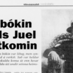 Sosialurin 7. des. 1995: Síðsta bókin hjá Niels Juel Arge útkomin