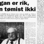 Sosialurin 4. des. 1993: Søgan er rík, hon tømist ikki