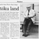 Dimmalætting 23. nov. 1996: Tað gloymda handritið hjá Niels Juel